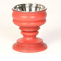 Red: Phuket Raised Dog Bowls