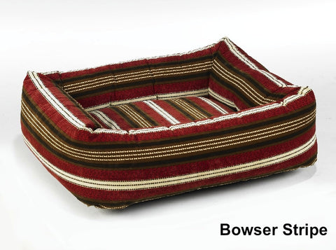 Bowser Stripe Dutchie Sweet Sleeper Dog Bed