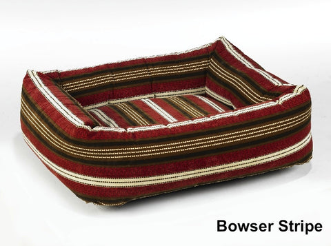 Bowsers Dutchie Sweet Sleeper (Stripes/Florals) Dog Bed