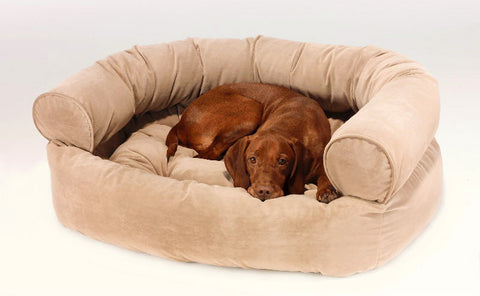 Bowsers Double Donut Deluxe (Solid) Dog Bed