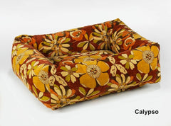 Calypso Hawaiian Flower Dutchie Sweet Sleeper Bowsers Dog Bed