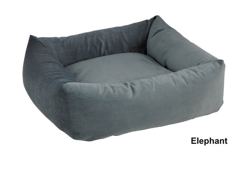 Elephant Blue Bowsers Dutchie Sweet Sleeper Dog Bed