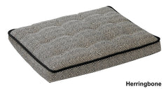 Grey Deluxe Dog Bed Crate Mattress
