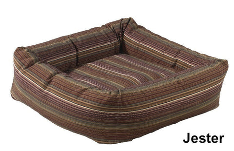 Jester Stripe Dutchie Sweet Sleeper Bowsers Dog Bed