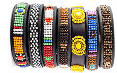Kenyan Maasai Beaded Bracelet (for Dog Owners)