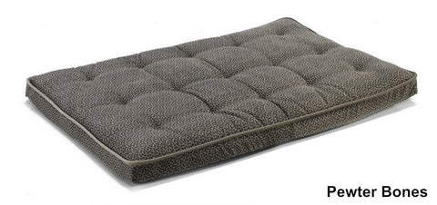 Pewter Bones Deluxe Dog Bed Crate Mattress