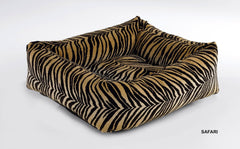 Safari Leopard Print Dutchie Bowsers Sweet Sleeper Dog Bed