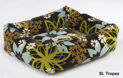 St. Tropez Hawaiian flower Dutchie Sweet Sleeper Bowser Dog Bed