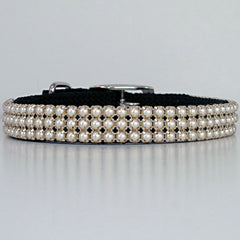 Pearl 3:  Pearl Beaded Dog Collar