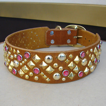 XDog Leather Collar