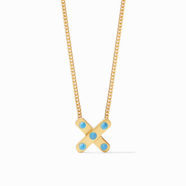 Paris X Charm Necklace