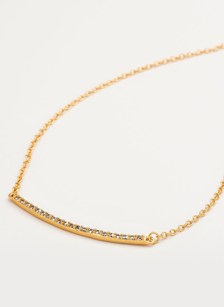 Taner Pave Bar Necklace