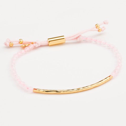 Gold Power Bracelet - Love