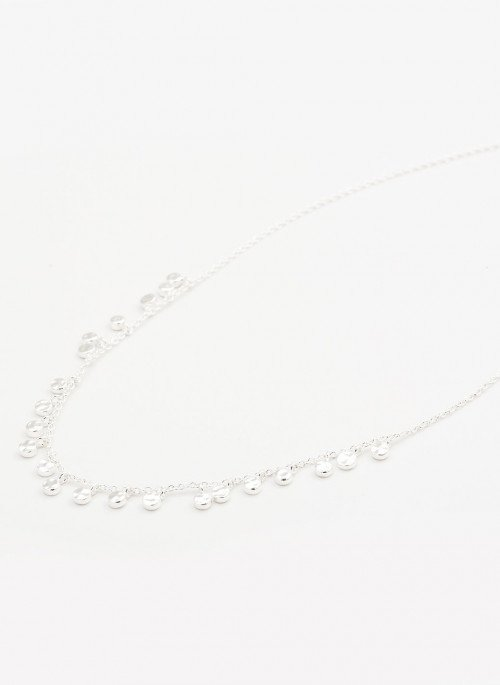 Chloe Mini Necklace - Silver