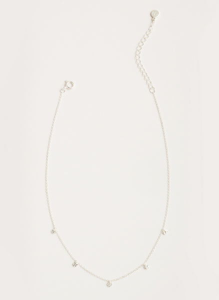 Five Disc Choker - Silver
