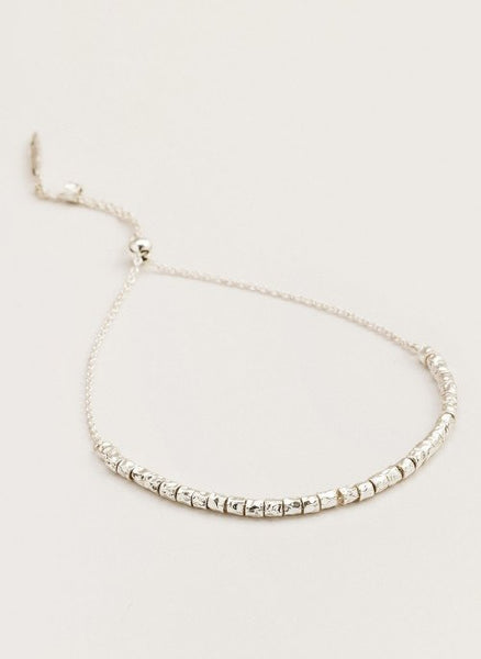 Laguna Adjustable Bracelet - Silver