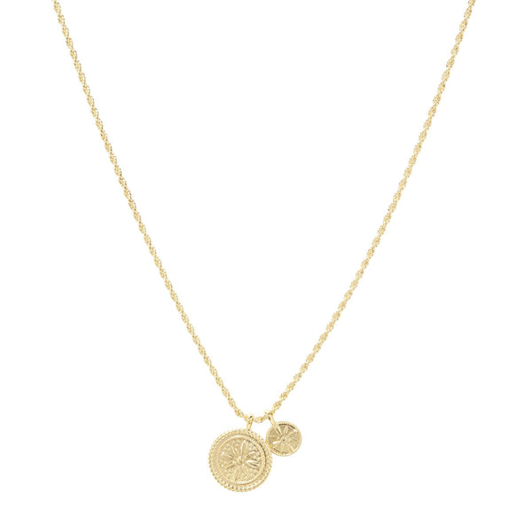 Fiore Coin Necklace