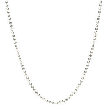 "18"" Sterling Silver Ball Chain"