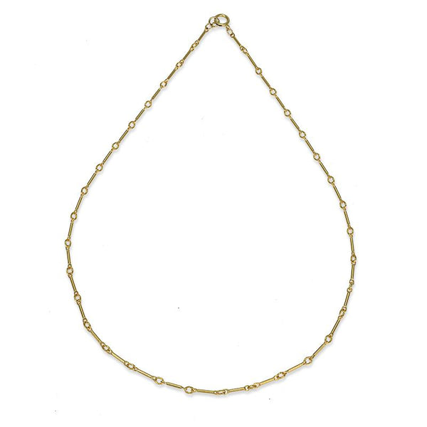 "16"" Bar Chain Layering Necklace"