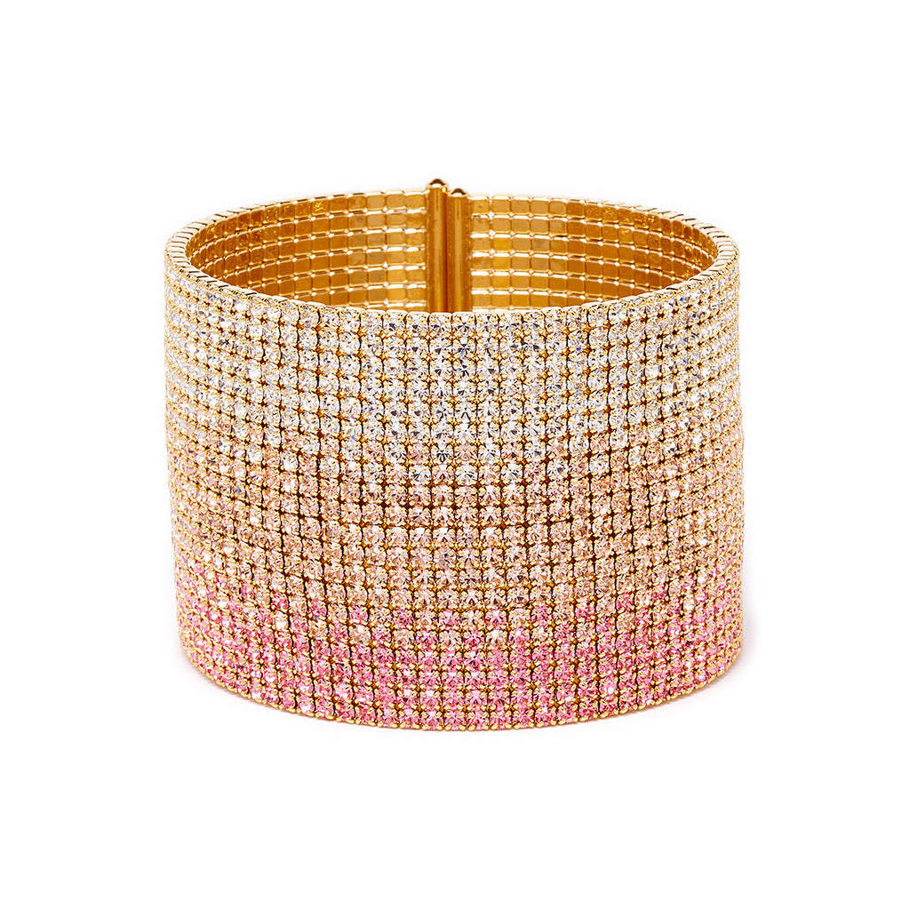 Ombre Crystal Cuff