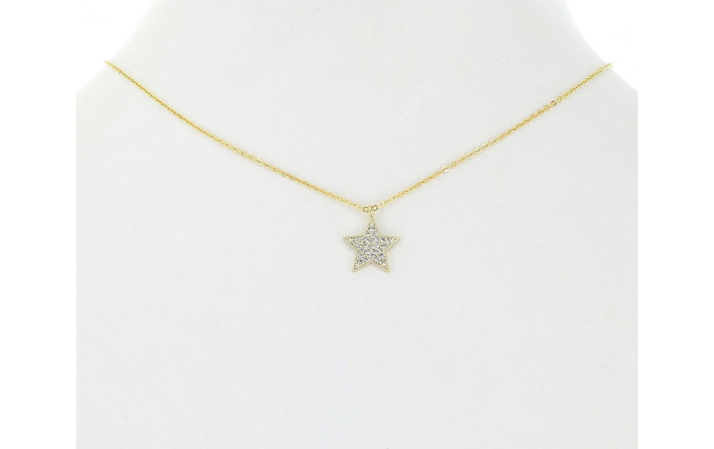 Pavé Star Necklace