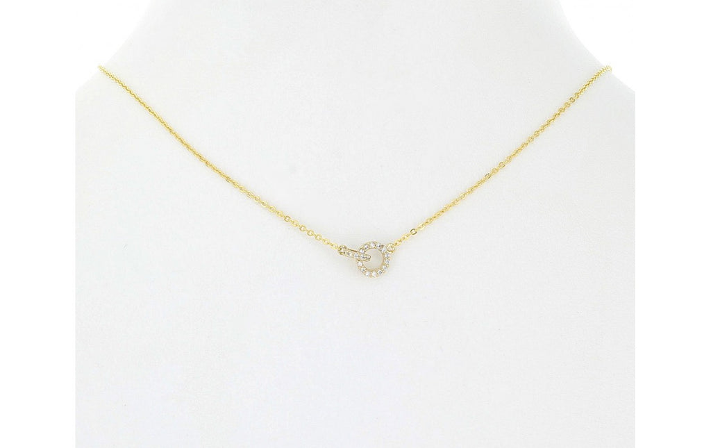 Double Mini Links Necklace - Gold