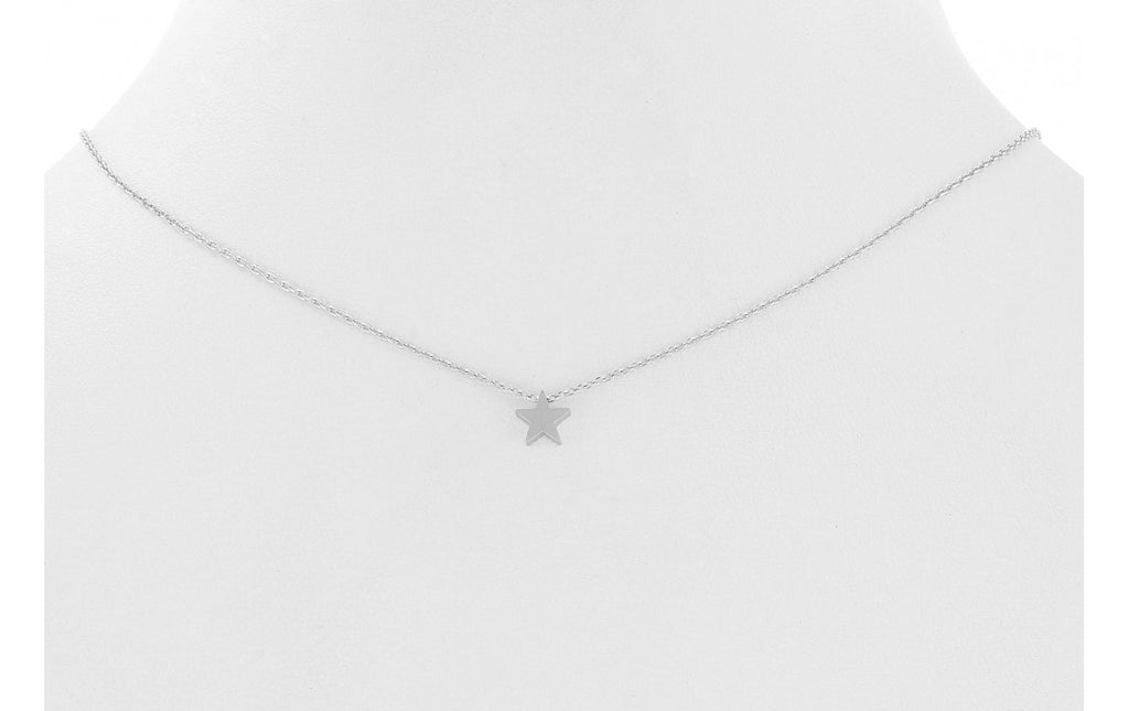 Star Charm Necklace - Silver