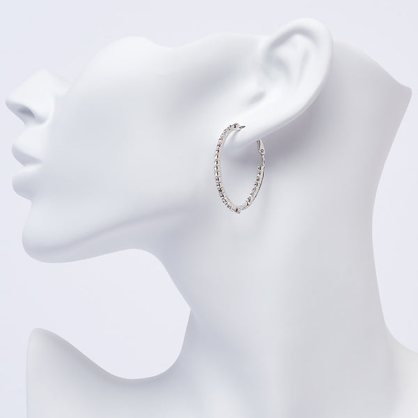 Oval Hoop Medium Earring