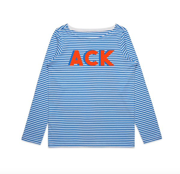 ACK Long Sleeve Stripe Tee
