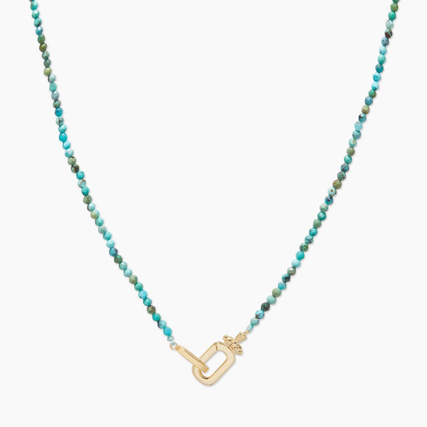 Dylan Gem Necklace (Turquoise)
