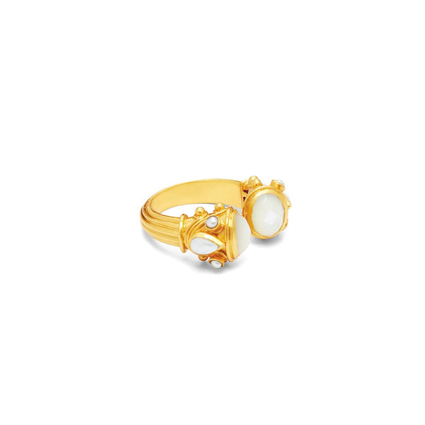 Byzantine Ring - Pearl