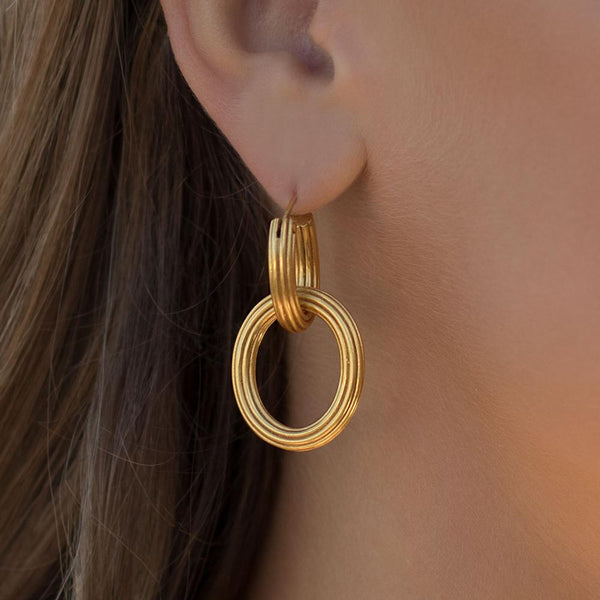 Byzantine 2-in-1 Earring