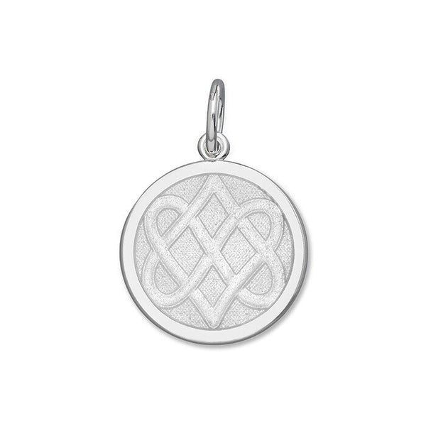 Celtic Knot Alpine White