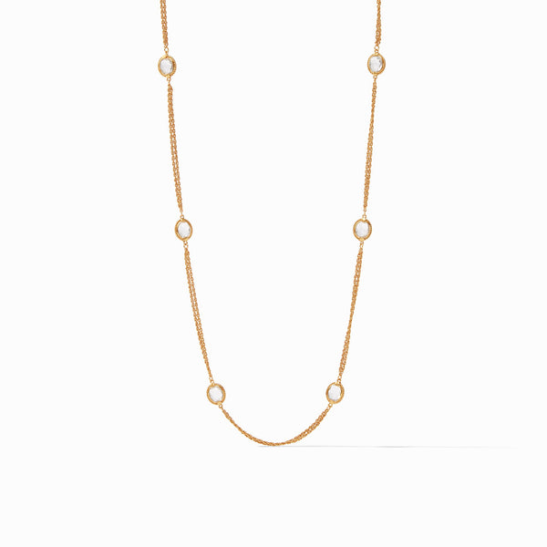 Calypso Station Necklace Clear