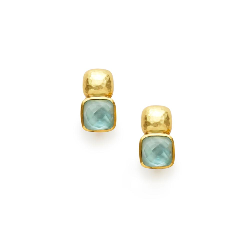 Catalina Earring - Aquamarine