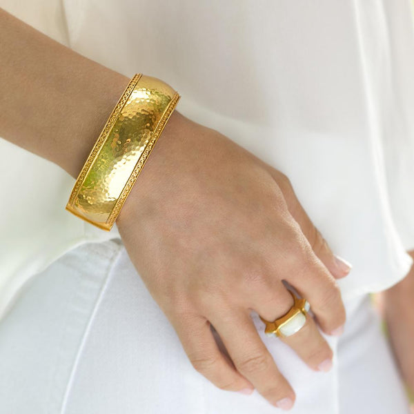 Catalina Statement Hinge Bangle