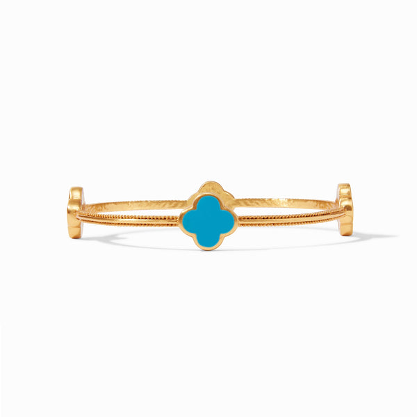 Chloe Bangle  Iridescent Pacific Blue/Medium