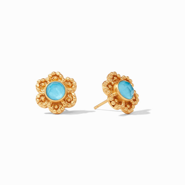 Colette Stud - Pacific Blue