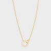 Balboa Shimmer Interlocking Necklace