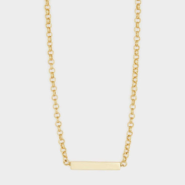 Lou Tag Necklace