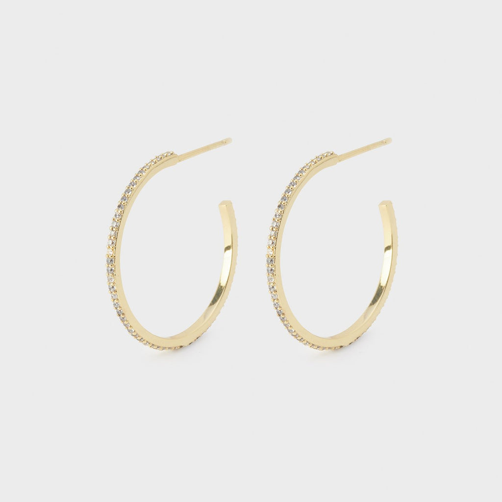 Shimmer Small Hoops