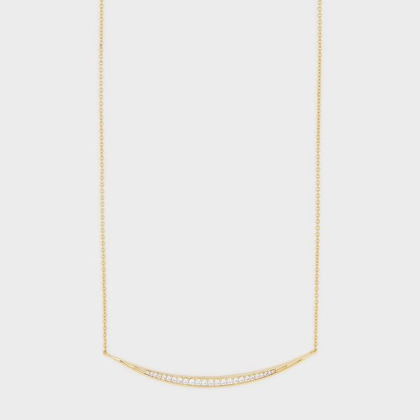 Crescent Shimme Necklace