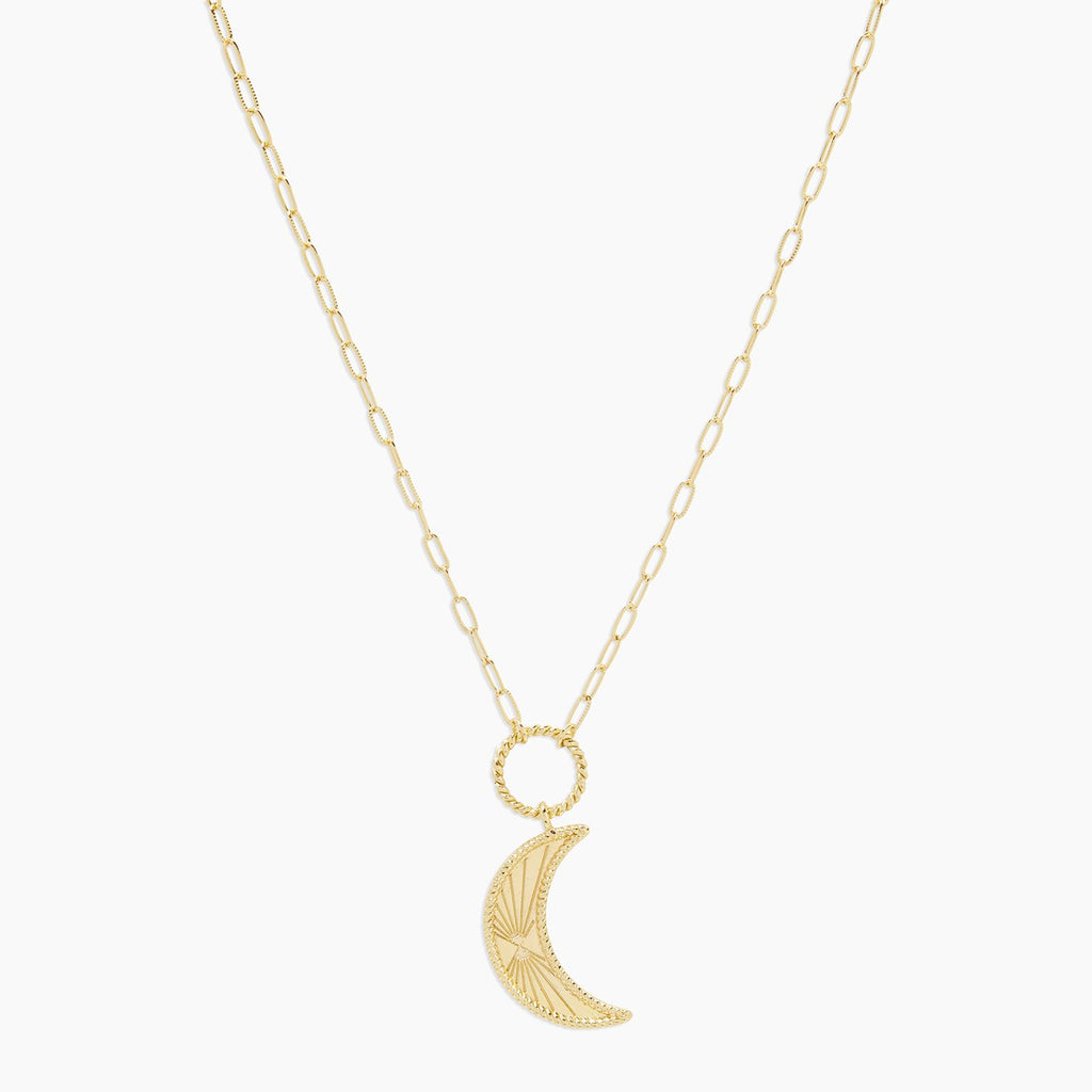 Celeste Moon Necklace