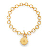 Honeybee Statement Necklace - Clear