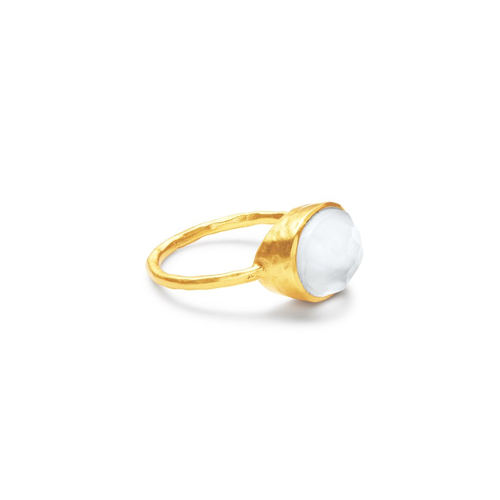 Honey Stacking Ring - Clear Crystal