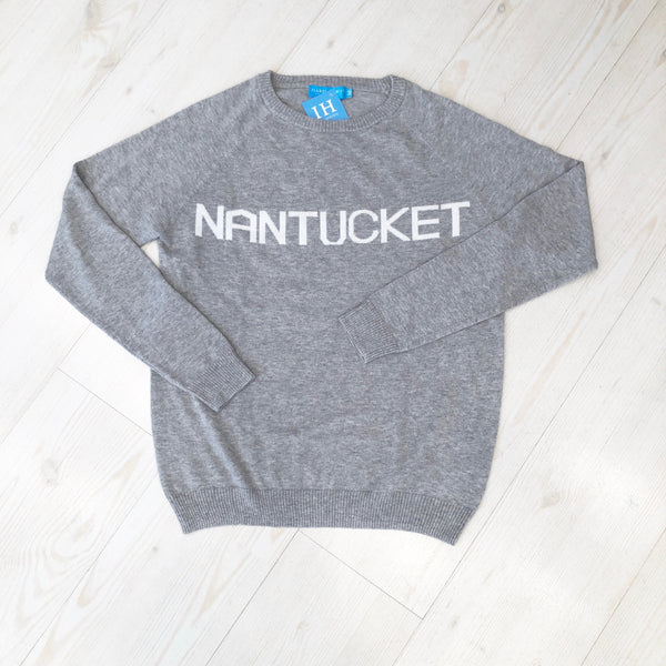 Nantucket Sweater Grey Lady