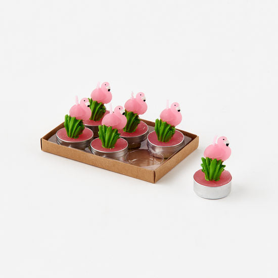 TeaLight Candles - Flamingo