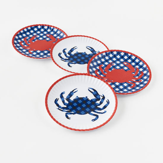 "Crab ""Paper"" Plate"