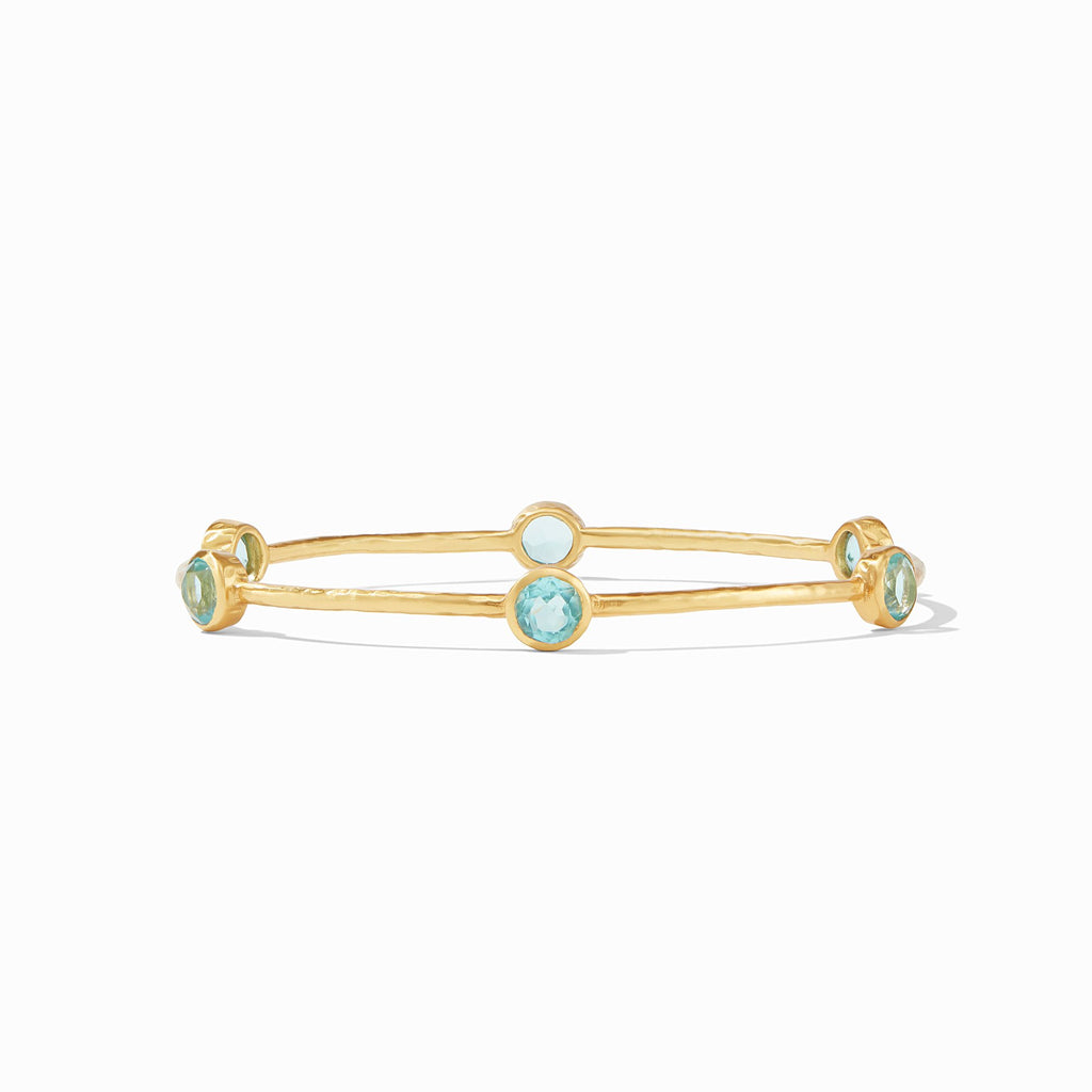 Milano 6-Stone Bangle -  Bahamian Blue