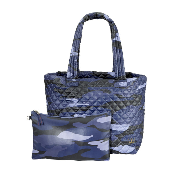 Wingwoman Tote Large Blue Camo